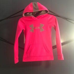 Under Armour Girls sweater hoodie Sz YXS